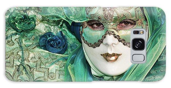 Carnival In Green Galaxy Case