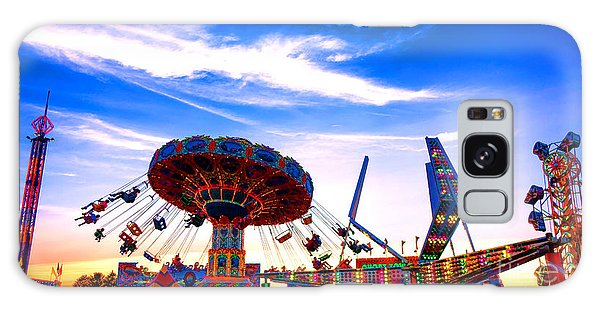 County Fair Galaxy Case - Carnival Magic by Olivier Le Queinec