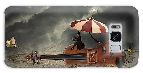 Caravan Galaxy Case - Mr. Dark by Juli Scalzi