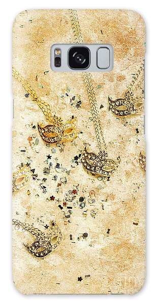 Jewels Galaxy Case - Carnival Masquerade Jewels by Jorgo Photography - Wall Art Gallery