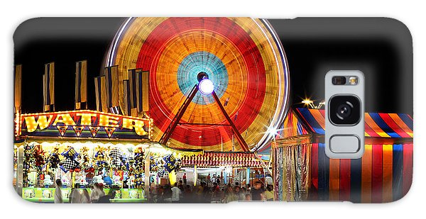 County Fair Galaxy Case - Carnival Midway by Todd Klassy