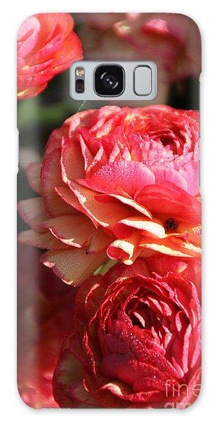 Carnival Of Flowers 02 Galaxy Case by Andrea Jean