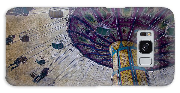 County Fair Galaxy Case - Carnival Ride At The Fair by Garry Gay
