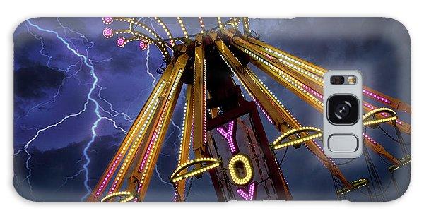 County Fair Galaxy Case - Carnival Ride by Juli Scalzi