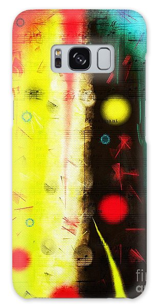 Galaxy Case featuring the digital art Carnival by Silvia Ganora