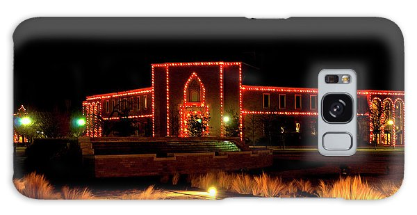 Galaxy Case featuring the photograph Carol Of Lights At Science Building by Mae Wertz