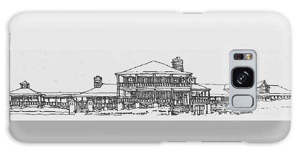 Carolina Beach House Galaxy Case