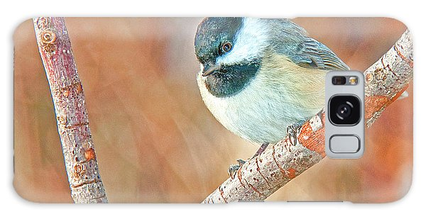 Galaxy Case - Carolina Chickadee by A Gurmankin