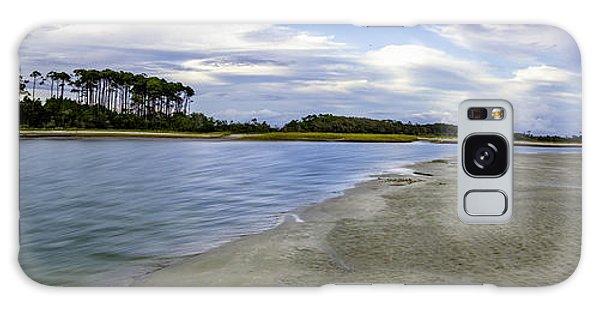 Carolina Inlet At Low Tide Galaxy Case