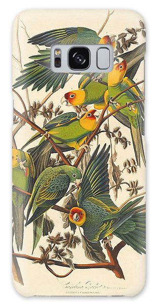 Engraving Galaxy Case - Carolina Parrot by Dreyer Wildlife Print Collections