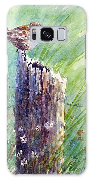Carolina Wren Galaxy Case by Gloria Turner