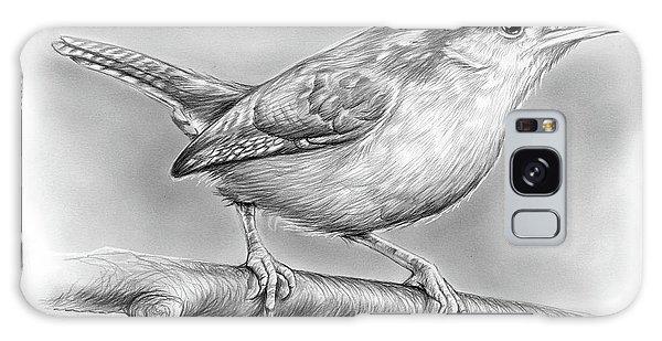Wren Galaxy S8 Case - Carolina Wren by Greg Joens