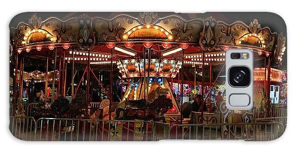 Carousel At Night 2017 2 Galaxy Case