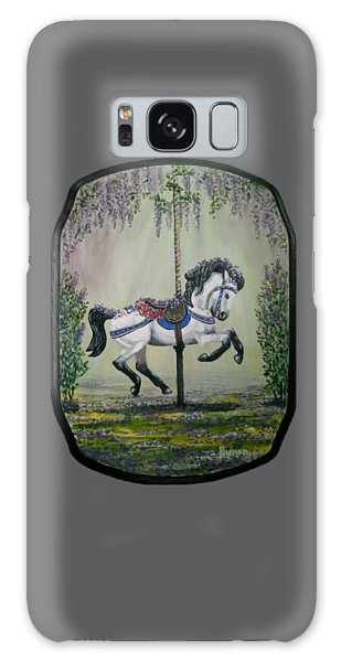 Carousel Garden The White Buckskin Stallion Galaxy Case by Ruanna Sion Shadd a'Dann'l Yoder