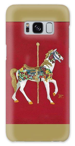Carousel Horse #2 Galaxy Case