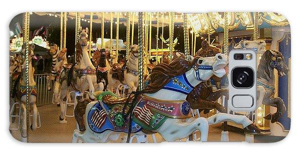 Carousel Horse 3 Galaxy Case