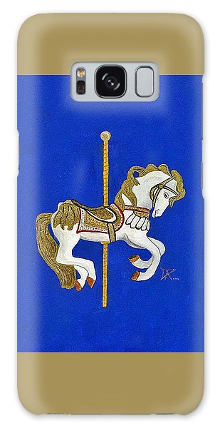 Carousel Horse #3 Galaxy Case