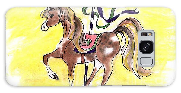 Carousel Horse Galaxy Case by Vonda Lawson-Rosa