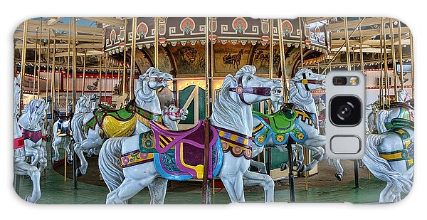 Carousel Horses Galaxy Case