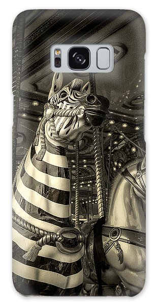Carousel Zebra Galaxy Case by Caitlyn Grasso