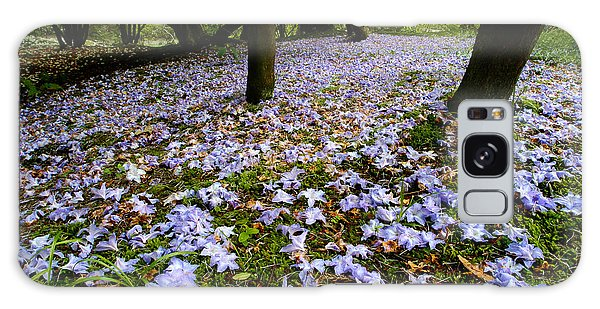 Carpet Of Petals Galaxy Case