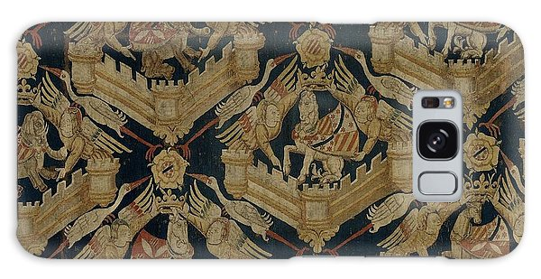 Carpet With The Arms Of Rogier De Beaufort Galaxy Case by R Muirhead Art