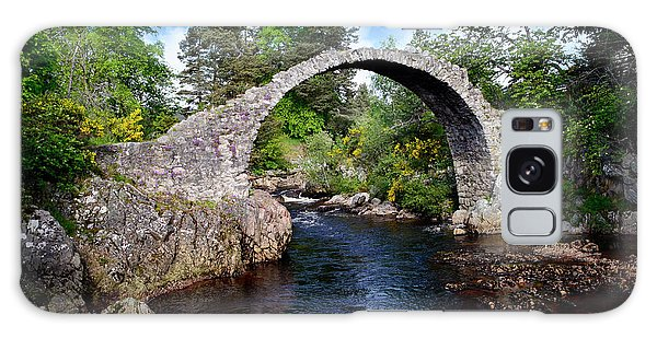 Carr Bridge Scotland Galaxy Case