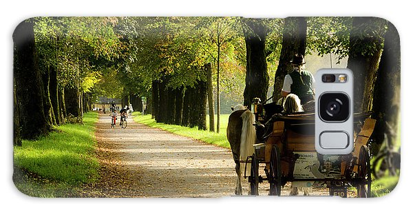 Carriage Ride In Hellbrunn Galaxy Case