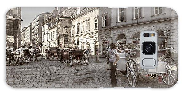 Carriages Back To Stephanplatz Galaxy Case