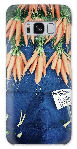 Carrots At The Market Galaxy Case