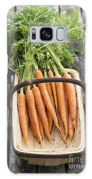 Carrots Galaxy Case by Tim Gainey