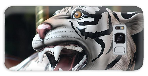 Carrousel Tiger Galaxy Case by Diane Merkle