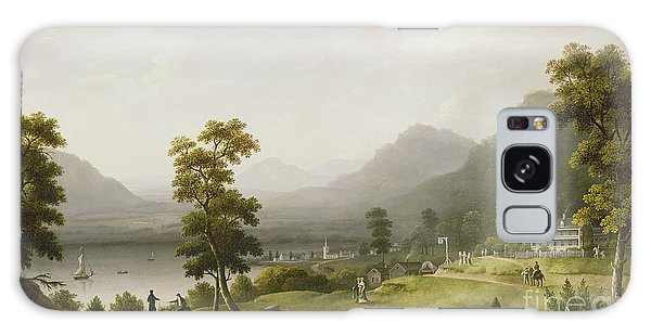 Hills Galaxy Case - Carter's Tavern At The Head Of Lake George by Francis Guy