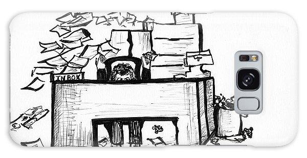 Cartoon Desk Galaxy Case
