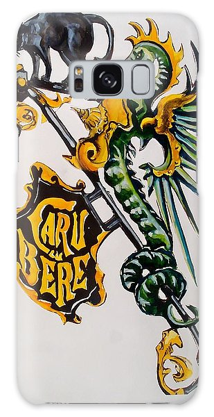 Caru Cu Bere - Antique Shop Sign Galaxy Case