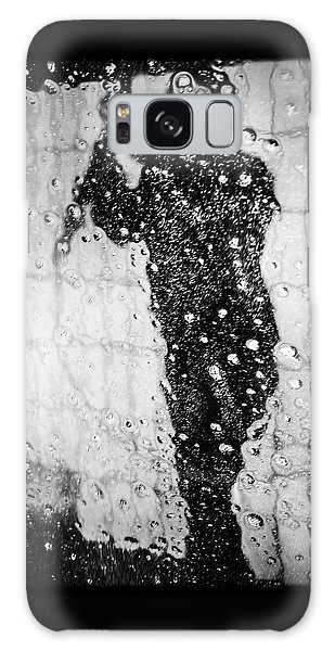 Cool Galaxy Case - Carwash Cool Black And White Abstract by Matthias Hauser