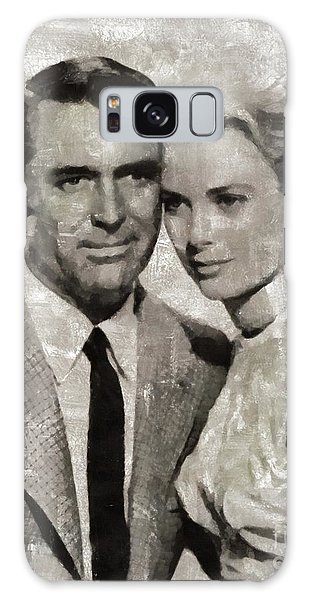 Cary Grant And Grace Kelly, Hollywood Legends Galaxy S8 Case