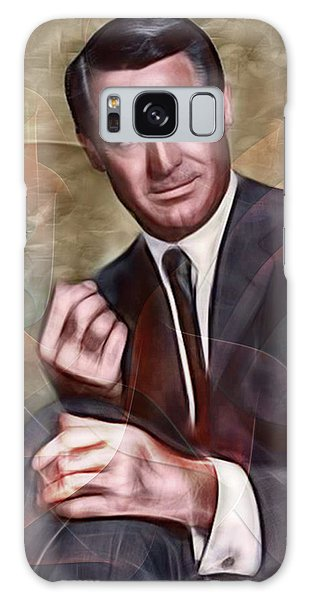 Cary Grant - Square Version Galaxy Case