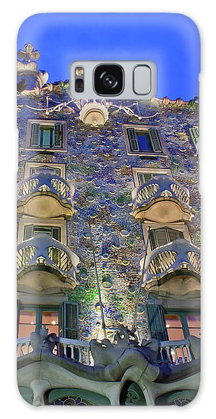 Casa Batllo In Barcelona Galaxy Case