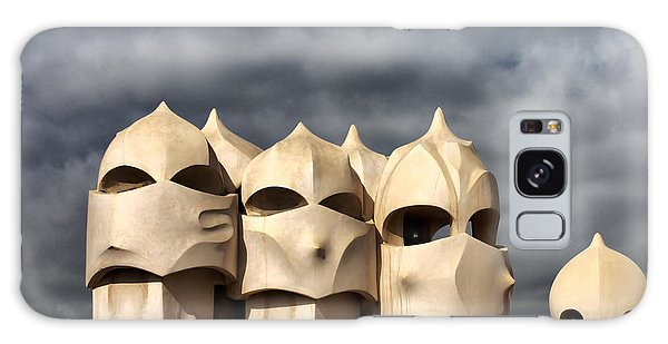 Casa Mila Masks Galaxy Case