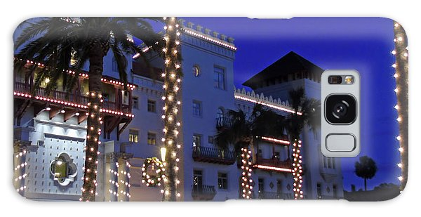 Casa Monica Inn Night Of Lights Galaxy Case