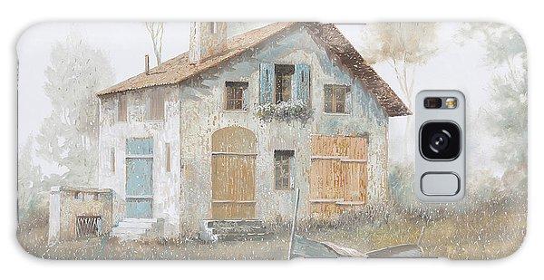 Fog Galaxy Case - Casa Pallida Nella Nebbia by Guido Borelli
