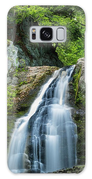 Cascade Falls In South Portland In Maine Galaxy Case