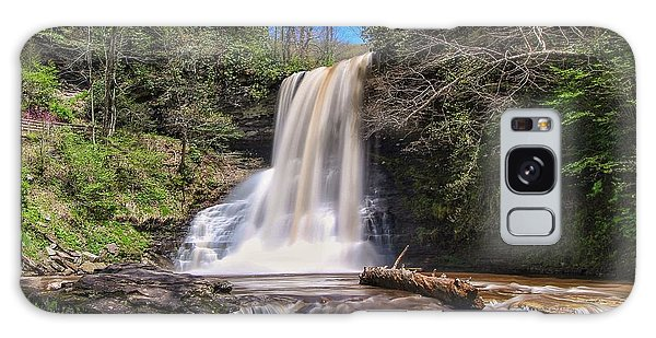Cascade Falls In Spring Galaxy Case