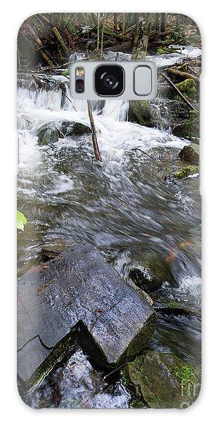 Cascade Falls Stream, Farmington, Maine  -30329 Galaxy Case