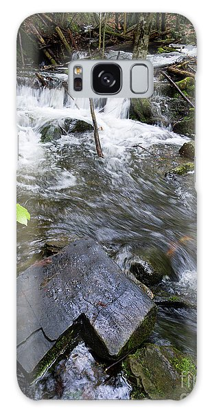 Cascade Falls Stream, Farmington, Maine  -30329 Galaxy Case