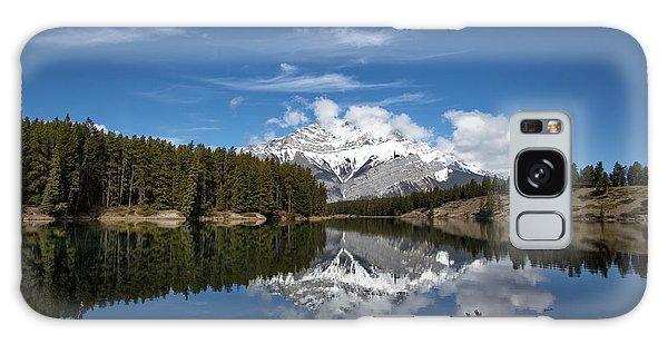 Cascade Mountain Reflections Galaxy Case