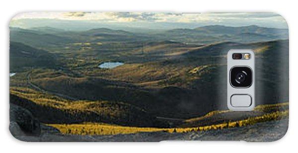 Cascade Mountain Sunset Galaxy Case