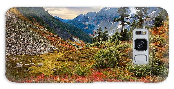 Cascade Pass Fall Galaxy Case