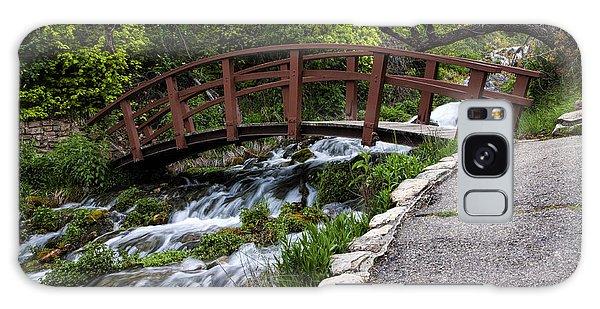 Cascade Springs Bridge Galaxy Case
